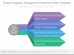 Project Integration Management Powerpoint Slides Templates