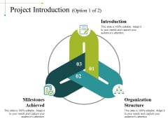 Project Introduction Template 1 Ppt PowerPoint Presentation Infographics Templates