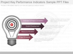 Project Key Performance Indicators Sample Ppt Files