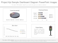 Project Kpi Sample Dashboard Diagram Powerpoint Images