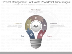 Project Management For Events Powerpoint Slide Images