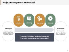 Project Management Framework Ppt PowerPoint Presentation Portfolio Graphics Example