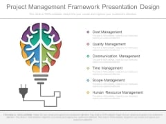 Project Management Framework Presentation Design