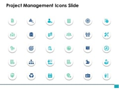 Project Management Icons Slide Marketing Management Ppt PowerPoint Presentation Show Mockup