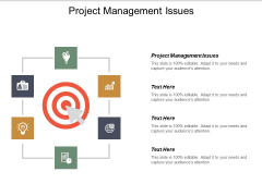 Project Management Issues Ppt PowerPoint Presentation Icon Files Cpb