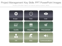 Project Management Key Skills Ppt Powerpoint Images
