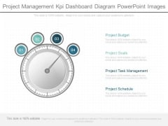 Project Management Kpi Dashboard Diagram Powerpoint Images