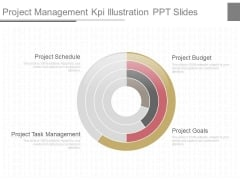 Project Management Kpi Illustration Ppt Slides