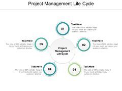 Project Management Life Cycle Ppt PowerPoint Presentation Outline Professional Cpb