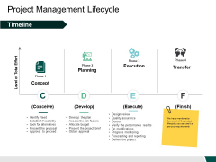 Project Management Lifecycle Execution Ppt PowerPoint Presentation Professional Infographic Template