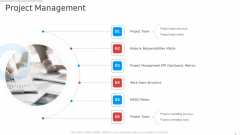 Project Management Manufacturing Control Ppt Infographics Elements PDF