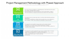 Project Management Methodology With Phased Approach Ppt PowerPoint Presentation Layouts Example Introduction PDF