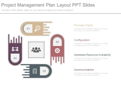 Project Management Plan Layout Ppt Slides