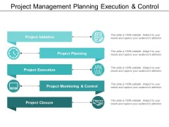 Project Management Planning Execution And Control Ppt PowerPoint Presentation Gallery Design Inspiration