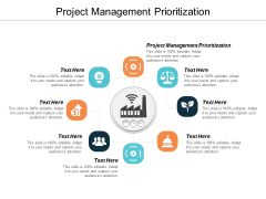 Project Management Prioritization Ppt PowerPoint Presentation Layouts File Formats Cpb