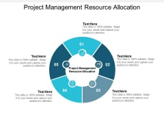 project management resource allocation ppt powerpoint presentation gallery outfit cpb