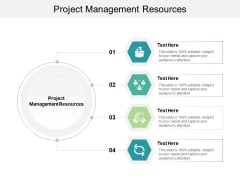 Project Management Resources Ppt PowerPoint Presentation Infographics Professional Cpb