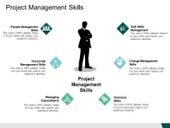 Project Management Skills Managing Ppt PowerPoint Presentation Show Background Images