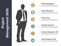 Project Management Skills Ppt PowerPoint Presentation Ideas Clipart Images