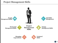 Project Management Skills Ppt PowerPoint Presentation Model Portfolio