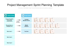 Project Management Sprint Planning Template Ppt PowerPoint Presentation Styles Display