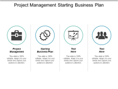 Project Management Starting Business Plan Ppt PowerPoint Presentation Styles Good