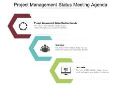 Project Management Status Meeting Agenda Ppt PowerPoint Presentation Visual Aids Files Cpb Pdf Pdf