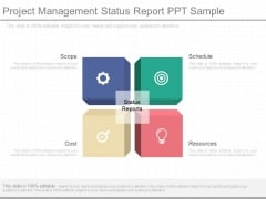 Project Management Status Report Ppt Sample