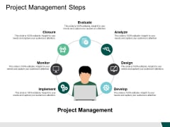 Project Management Steps Implement Ppt PowerPoint Presentation Ideas Images