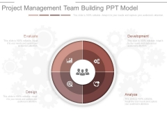 Project Management Team Building Ppt Model