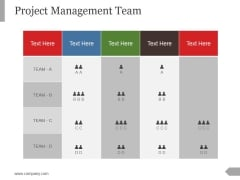 Project Management Team Ppt PowerPoint Presentation Background Designs