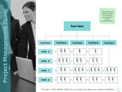 Project Management Team Ppt PowerPoint Presentation File Background Designs
