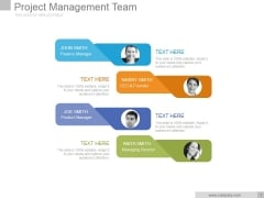 Project Management Team Ppt PowerPoint Presentation Graphics