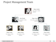 Project Management Team Ppt PowerPoint Presentation Guide