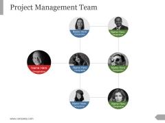 Project Management Team Template 1 Ppt PowerPoint Presentation Ideas
