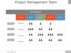 Project Management Team Template 2 Ppt PowerPoint Presentation Layouts Good