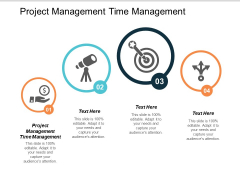 Project Management Time Management Ppt PowerPoint Presentation Infographics Slide Download Cpb