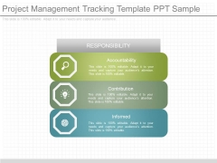 Project Management Tracking Template Ppt Sample