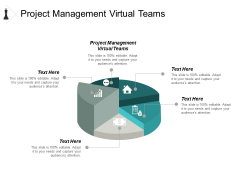 Project Management Virtual Teams Ppt PowerPoint Presentation Infographic Template Display Cpb