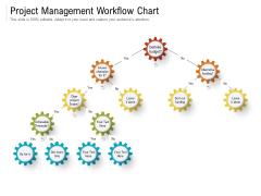 Project Management Workflow Chart Ppt PowerPoint Presentation File Influencers PDF