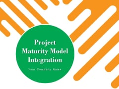 Project Maturity Model Integration Optimizing Capability Ppt PowerPoint Presentation Complete Deck