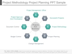 Project Methodology Project Planning Ppt Sample