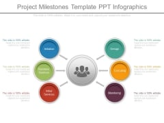 Project Milestones Template Ppt Infographics