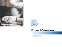 Project Overview Ppt PowerPoint Presentation Ideas Graphics Download