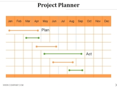 Project Planner Template 1 Ppt PowerPoint Presentation Professional Layouts