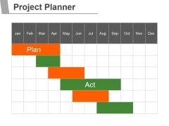 Project Planner Template 2 Ppt PowerPoint Presentation Information