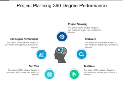 Project Planning 360 Degree Performance Ppt PowerPoint Presentation Professional Styles