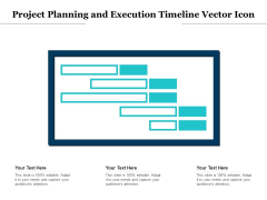 Project Planning And Execution Timeline Vector Icon Ppt PowerPoint Presentation Slides PDF