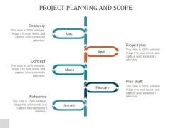 Project Planning And Scope Ppt PowerPoint Presentation Information