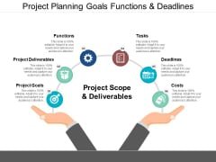 Project Planning Goals Functions And Deadlines Ppt PowerPoint Presentation Pictures Layouts